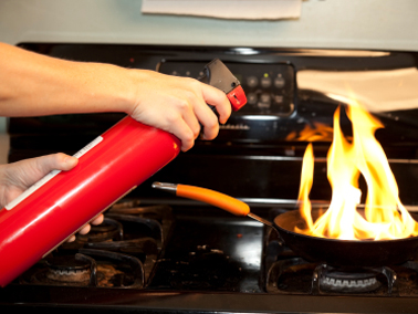 Learn more about fire extinguishers and where to store them in your home.